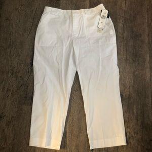 Lauren Ralph Lauren Classic White Capri pants
